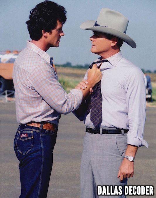 Bobby Ewing, Dallas, J.R. Ewing, Larry Hagman, Patrick Duffy, Trouble at Ewing…