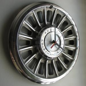 DIY Car Rim Clock