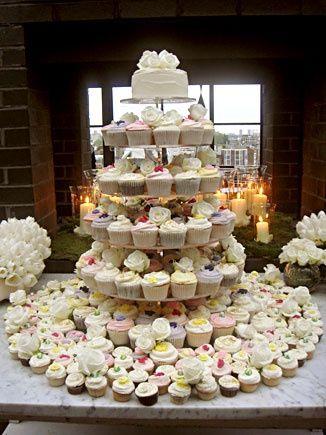 Wedding cupcakes from Primrose Bakery, London. london-weddings