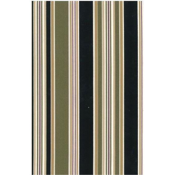 Blazing Needles Stripe/ Floral Outdoor Seat/Back Chair/Rocker Cushion