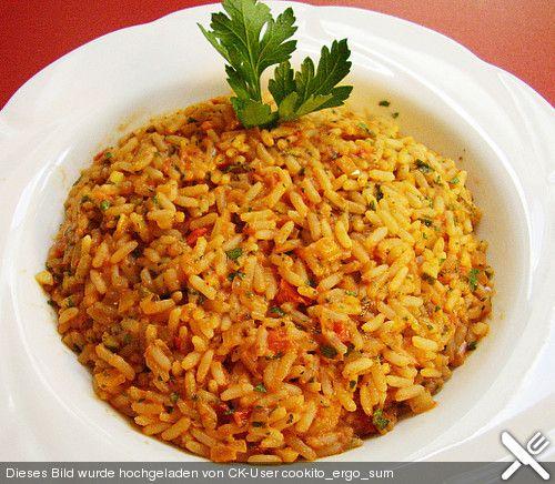 Griechischer Tomatenreis***** sehr gut!