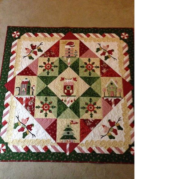 I love the design on this quilt from 24 Blocks