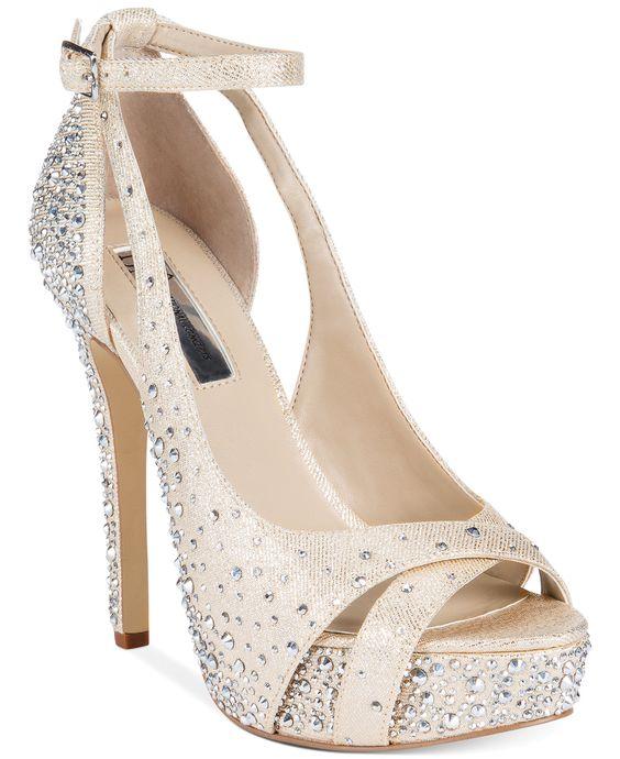INC International Concepts Women's Minxe Platform Evening Sandals - Evening & Bridal - Shoes - Macy's