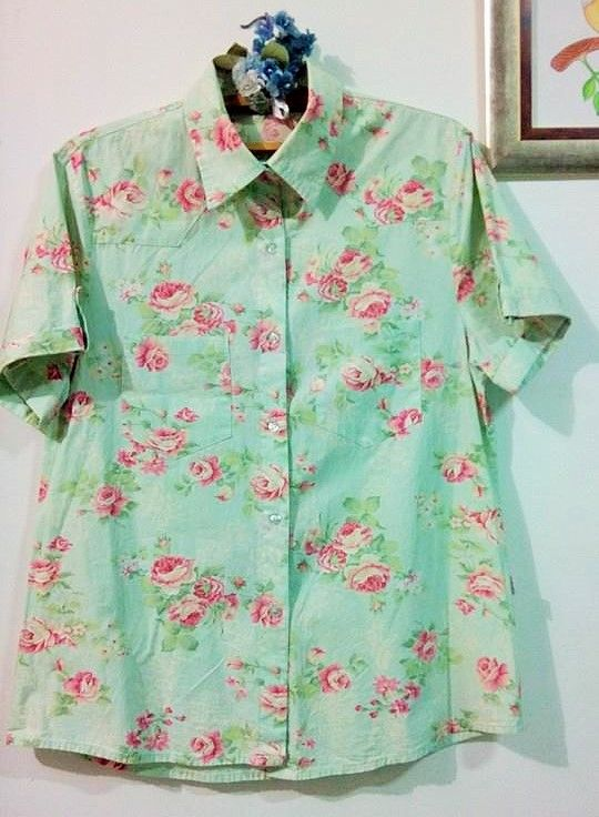 Camisa unisexx floral veste G