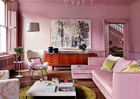 I kind of like all this pink.
