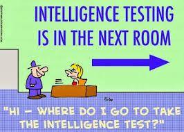 Chiste sobre el tipo clásico de inteligencia. #inteligencias #chiste #english