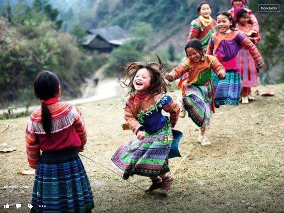 Felicidade colorida