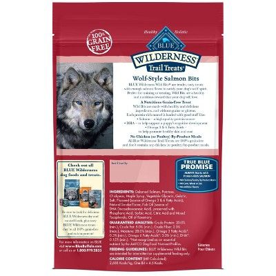 Blue Buffalo Wilderness 100 Grain Free Wild Bits Salmon Recipe
