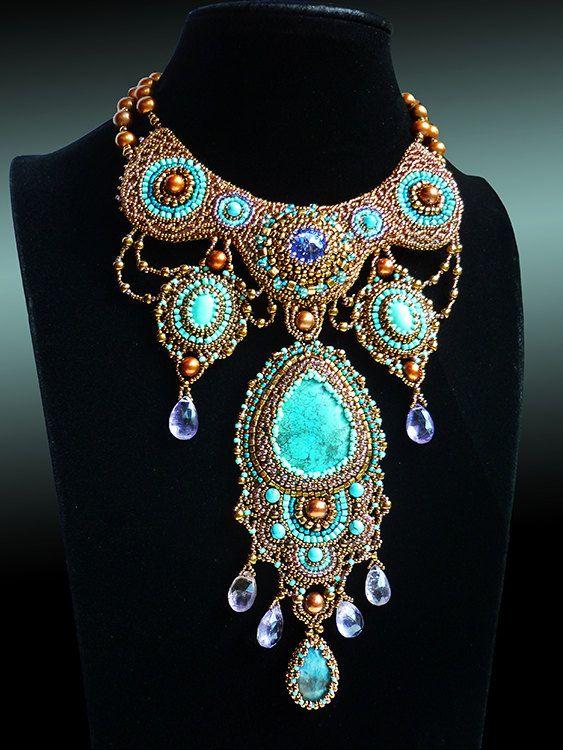 Sleeping Beauty  beautiful natural turquoise by JewelryElenNoel, $512.00