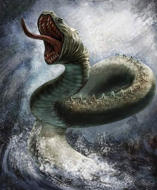 Image result for mythical snake