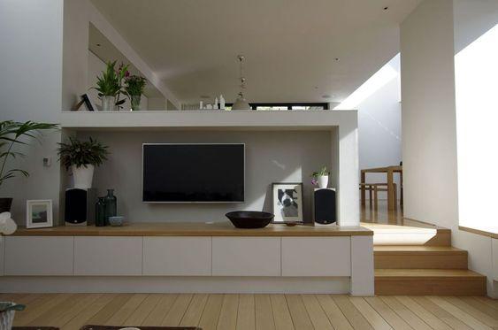 テレビ 壁掛け インテリア コーディネート