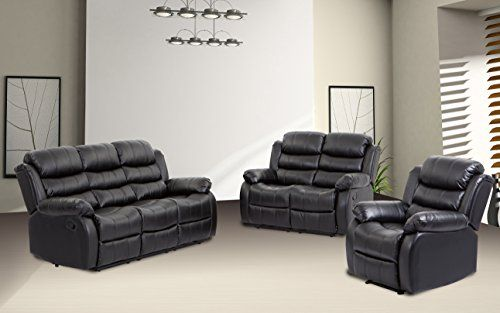 Bestmassage Sofa Recliner Sofa Set Reclining Chair Sectional Love Seat For Living Room Mo Sofa Set Leather Reclining Sectional Sofa Sectional Sofas Living Room