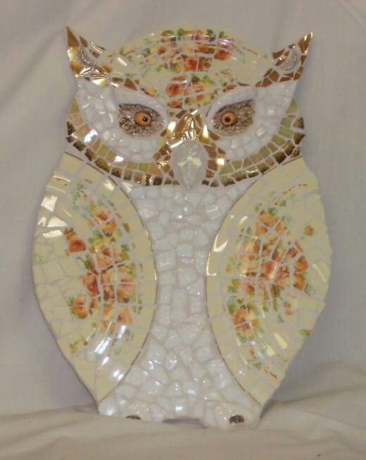 Owl - nice use of plates for wings