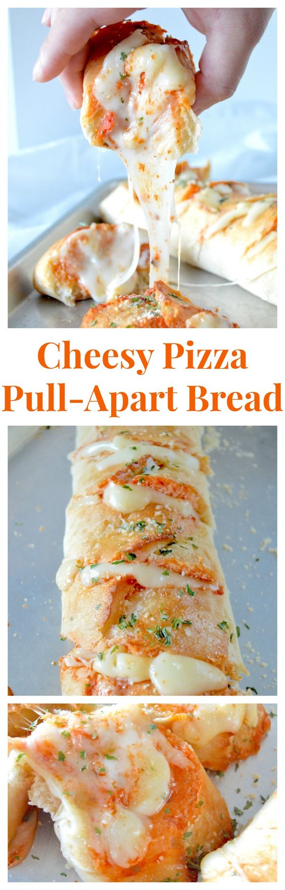 """Crazy cheesy, quick mini """"pizzas"""" that are fun to eat and unbelievably easy to make!"""