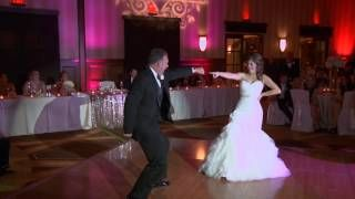 surprise father daughter dance - YouTube