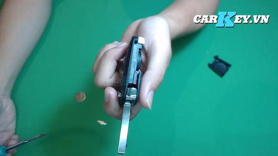 Thay vỏ chìa khóa xe Chevrolet Cruze