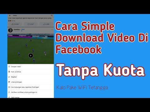 Cara Download Video Fb Tanpa Aplikasi Di Hp Android Youtube