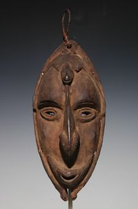 michael hamson oceanic art | ... river mask 12 early 20th c courtesy of michael hamson oceanic art