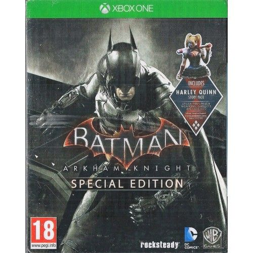 Xbox ONE Batman Arkham Knight Special Edition Steel Book Brand NEW