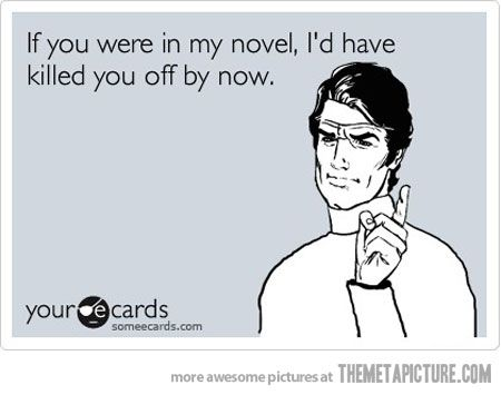 If you were in my novel…