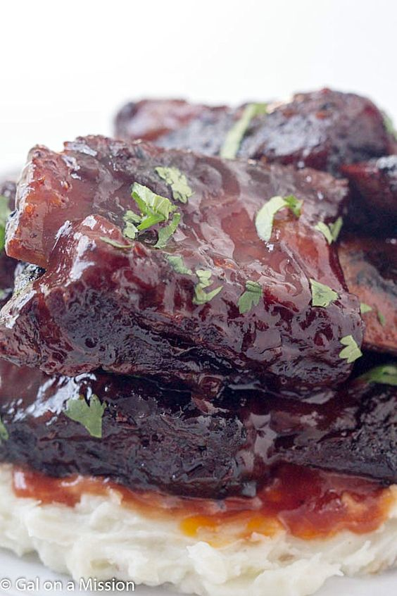 Baked barbecue beef short ribs recipe ribs ovens and the o 39 jays - Make lamb barbecue ...