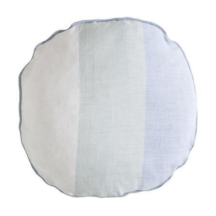The Echo Circle Cushion | Morning Mist theblockshop