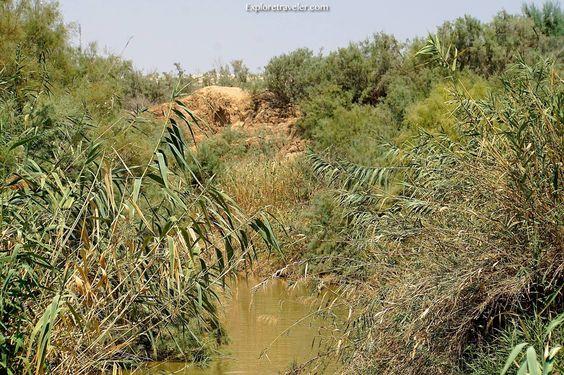 Qasr al-Yahud on the #Jordan River #Israel the site according to tradition, #Jesus was baptized by John the Baptist - https://www.pilgrimtraveler.com