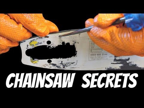 Chainsaw Secrets The Pros Won T Tell You About Youtube Chainsaw Chainsaw Sharpening Tools Chainsaw Repair