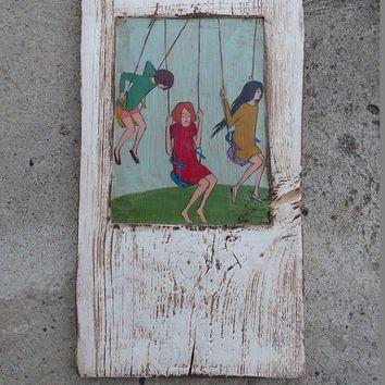 painting old wood - Recherche Google