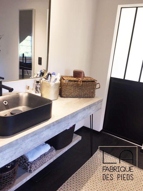 Pied Sur Mesure 3 Tiges 25 110cm Hairpin Legs La Fabrique Des Pieds Meuble Vasque La Fabrique Des Pieds Faire Une Table Basse
