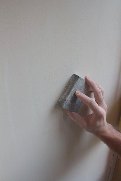 Como quitar el gotelé de las paredes y dejarlas lisas