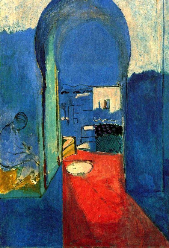 Henri Matisse, Entrance to the Kasbah, 1912