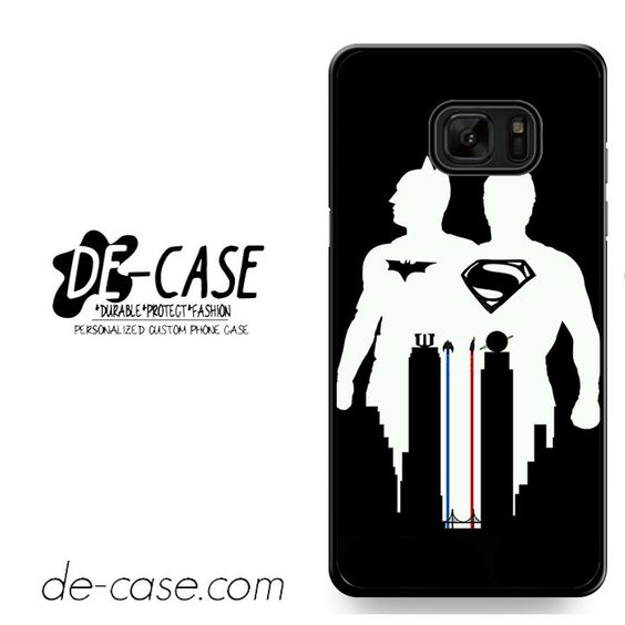 Batman & Superman Black&White DEAL-1406 Samsung Phonecase Cover For Samsung Galaxy Note 7