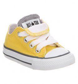converse amarillas niña