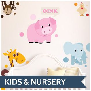 nursery wall art from $29 and $10 discount for new user  decdecals.com