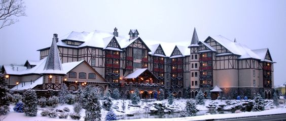 The Inn at Christmas Place, Pigeon Forge, TN.  Close to Great Smoky Mountains National Park.