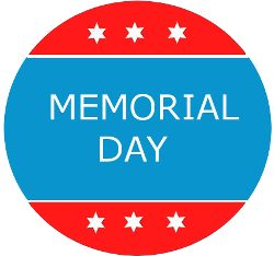 closed for memorial day email