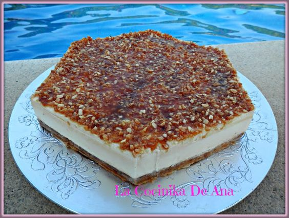 La Cocinika De Ana: Tarta de queso & leche merengada
