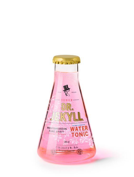 Dr Jekyll tonic water bottle by Eduardo Del Fraile.