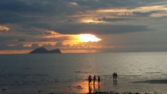 Beautiful sunset ...We were here to watch u..and blessed @Damai Central, Santubong Sarawak