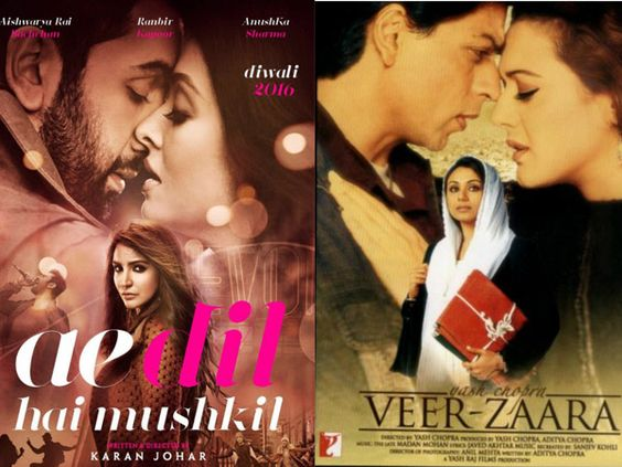 Karan Johar unveiled a few posters of his 'Ae Dil Hai Mushkil' that reminded us…