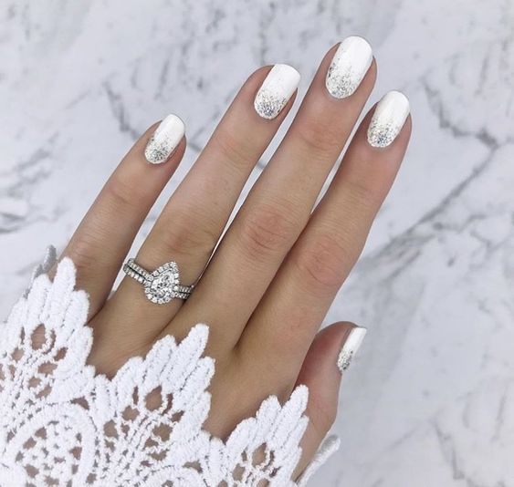 19 Elegant Wedding Manicure Ideas More Exciting Than Pale Pink