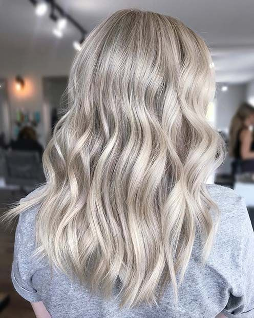 23 Silver Hair Color Ideas Trends For 2018 Light Blonde Hair