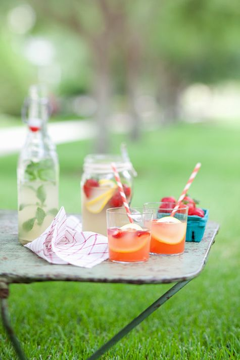 Ginger and Strawberry Bubbles: looks and sounds delicious