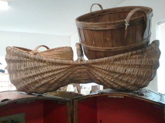 Antique Potato Basket - Montesano WA