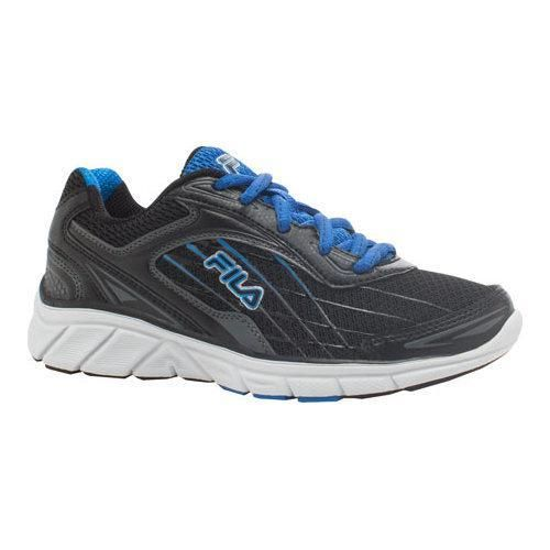 Boys' Fila Imperative Running Shoe /Castlerock/Electric Blue Lemonade