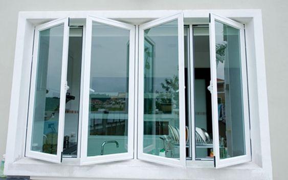 Kết quả hình ảnh cho Mẫu cửa sổ nhôm kính dạng mở quay