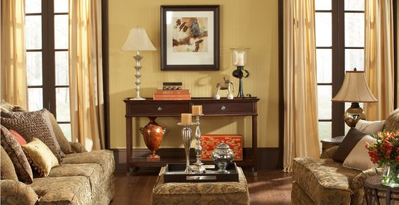 Warm Colors And Living Rooms On Pinterest