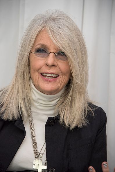 Diane Keaton Google Search Diane Keaton Hairstyles Lob Hairstyle Hair Today