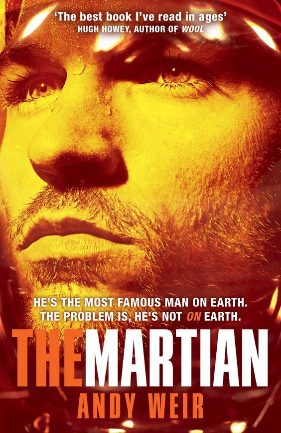 The Martian:  Andy Weir - book set in the future, book by an author I haven't read before, a book that made me cry